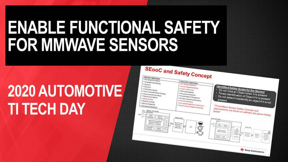 Enabling Functional Safety for mmWave Sensors