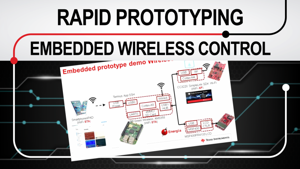 Rapid prototyping based on embedded wireless system