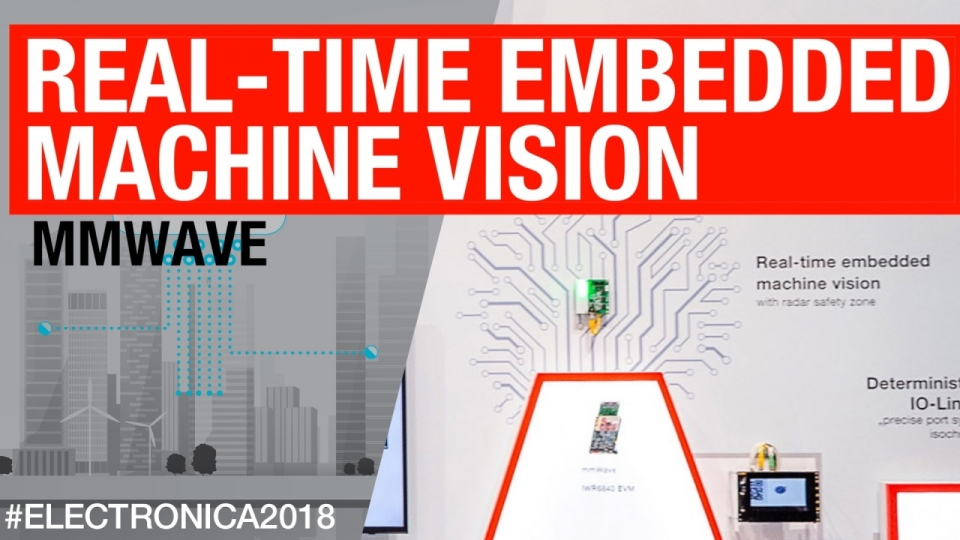 Real time embedded machine vision