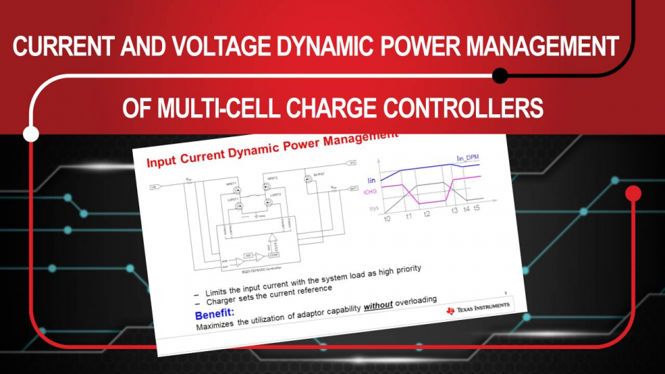 Multi-cell Charge Controller Dynamic Power Management