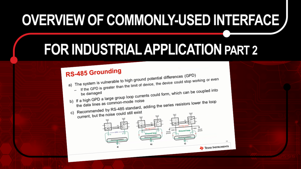 Commonly-used Interface for Industrial