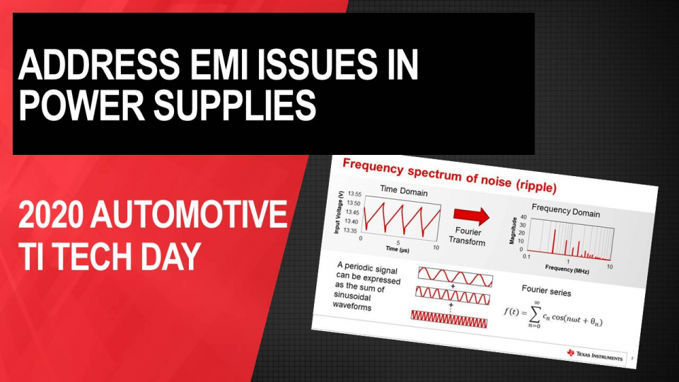 Tips and Tricks for Addressing EMI Issues in Power Supplies