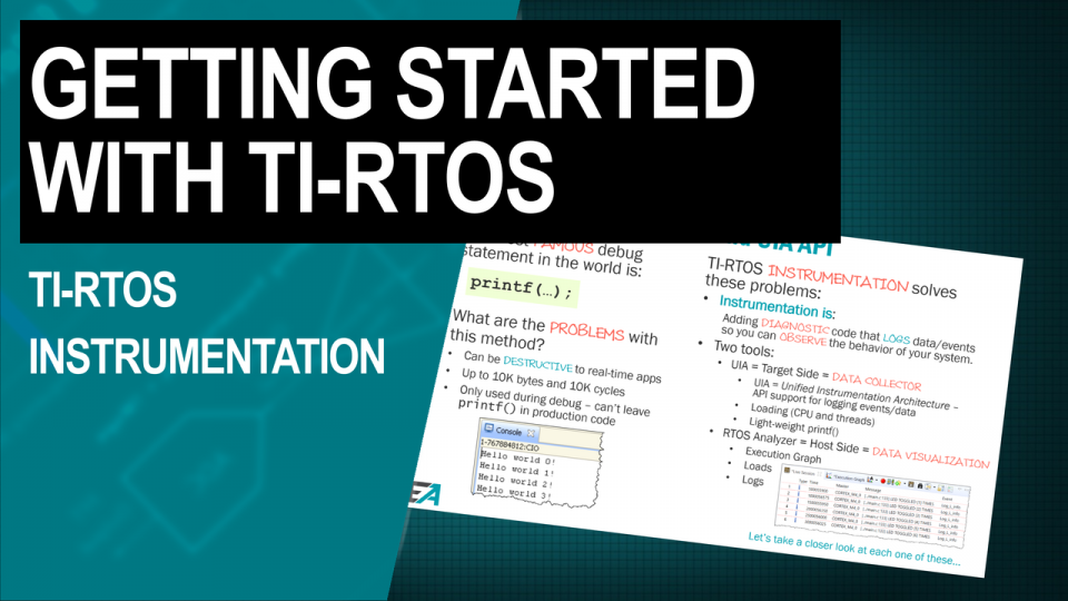 TI-RTOS Instrumentation