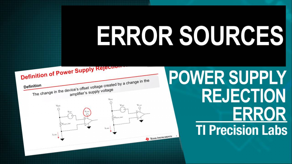 Thumbnail - Power Supply Rejection Error
