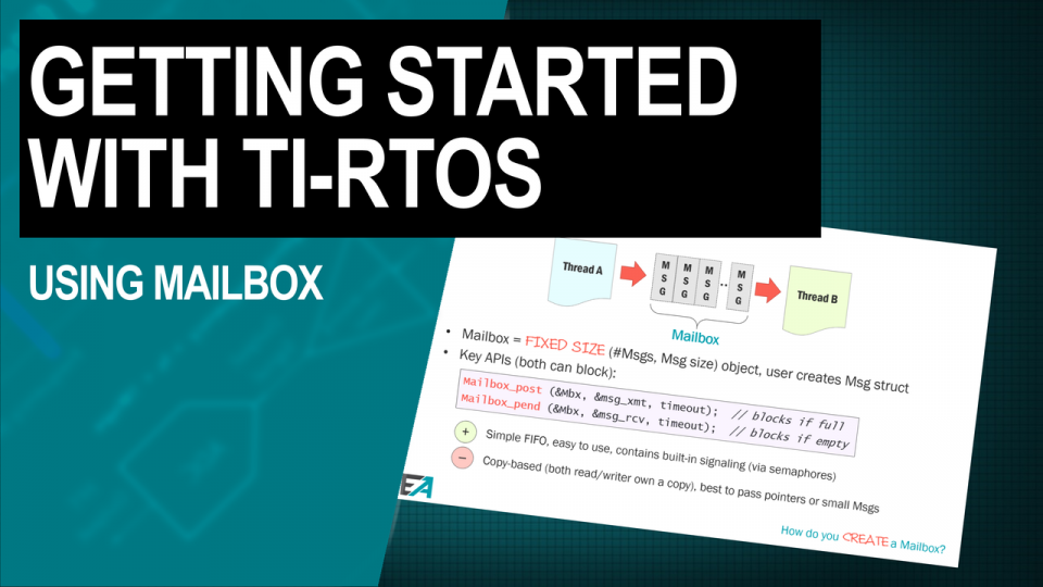 TI-RTOS Training Using Mailbox