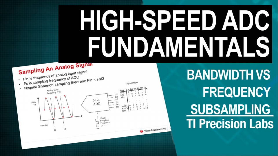Bandwidth vs Frequency(Subsampling Concepts)