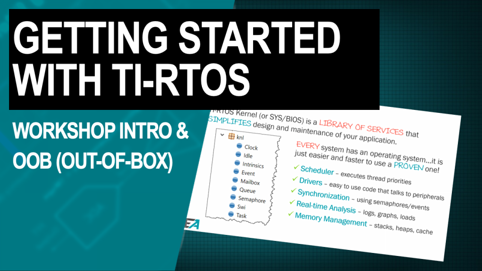 TI-RTOS Workshop Introduction