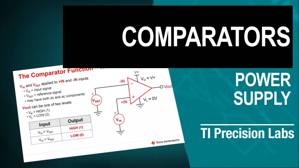 TI Precision Labs - Op Amps: Comparator Applications 3