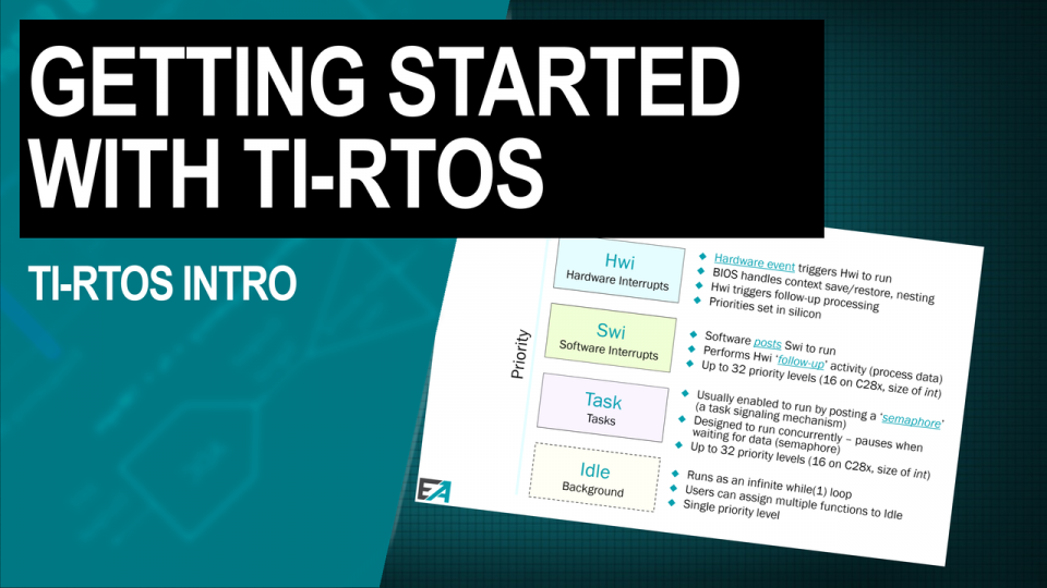 TI-RTOS Introduction