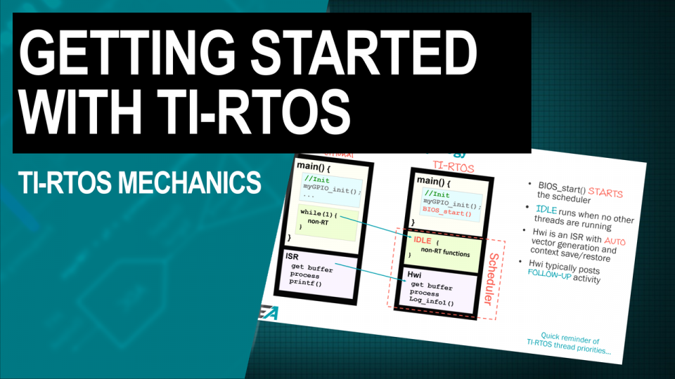 TI-RTOS mechanics