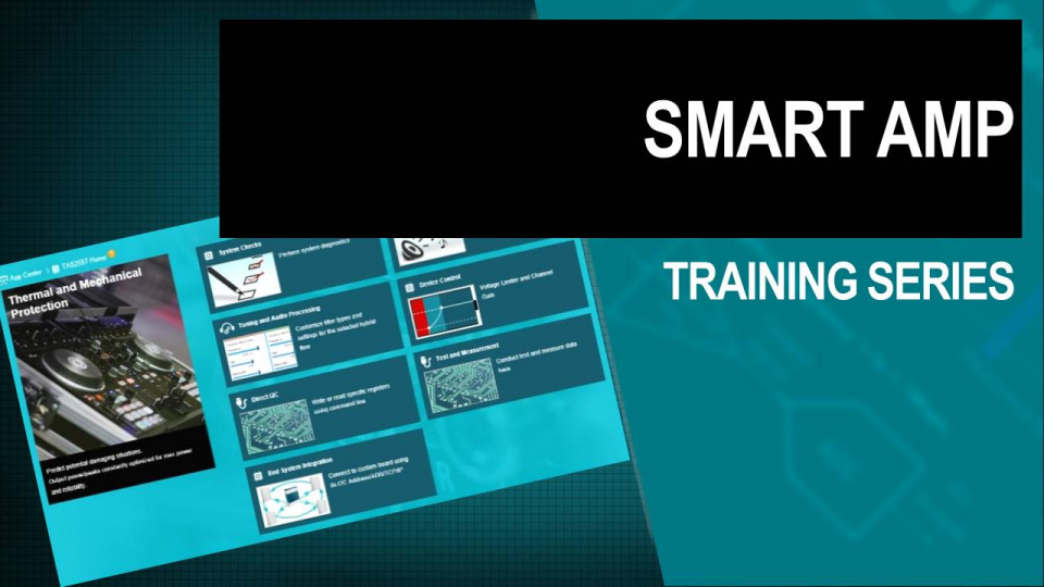 smart amp training