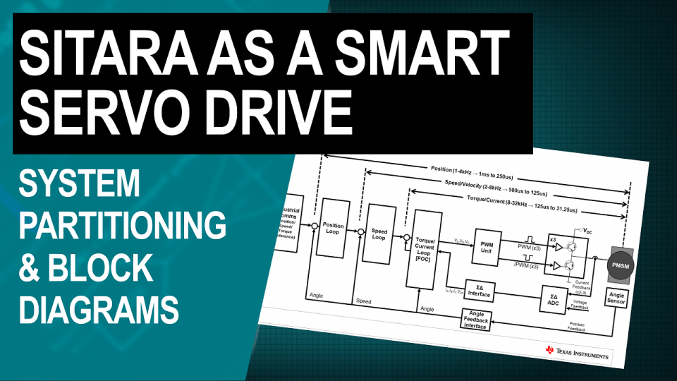 Sitara as a Smart Servo Drive: System Partitioning and Block Diagrams