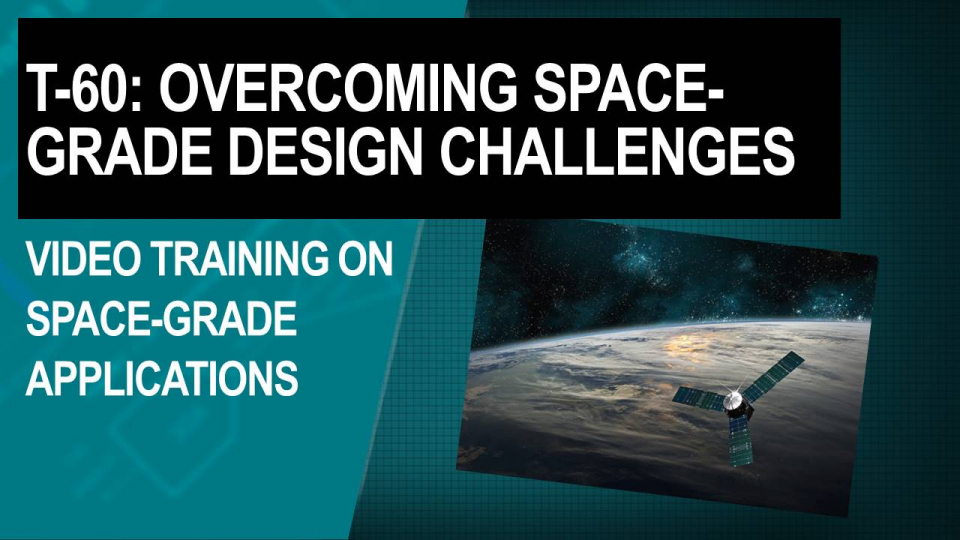 t-60 space grade video training series