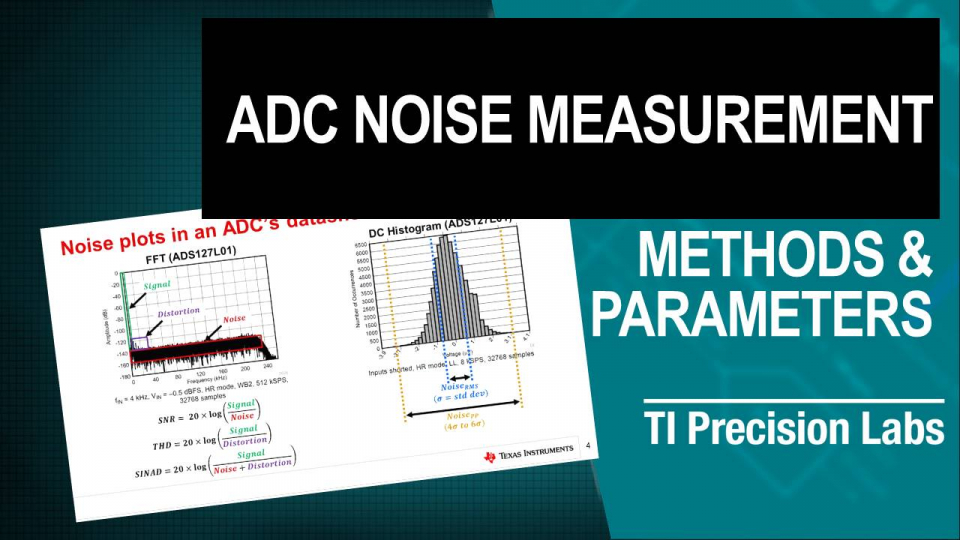 ADC Noise Measurement
