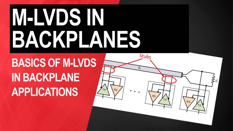 M-LVDS in Backplanes