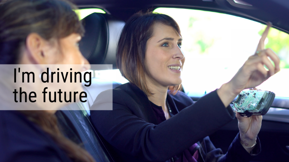 I'm driving the future - TI Employee perspective