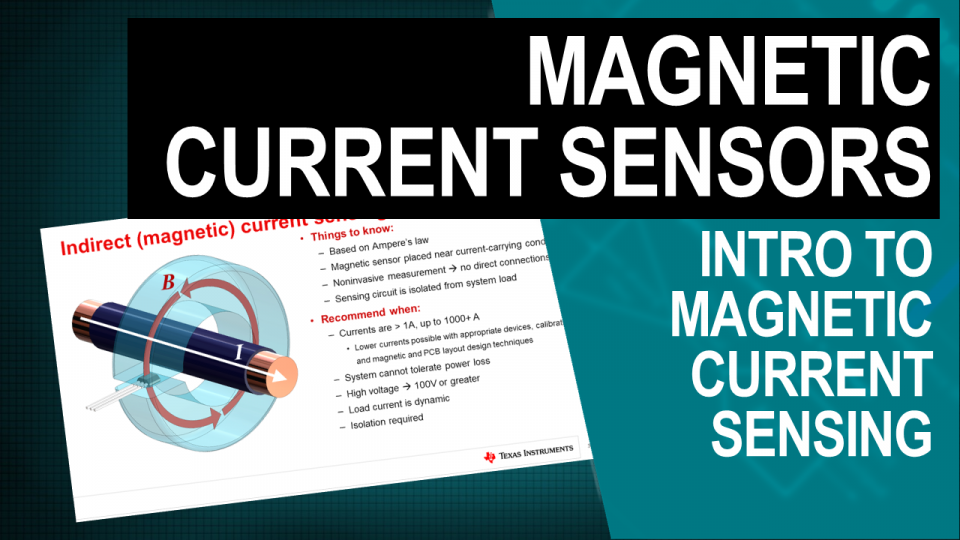 Thumbnail - Introduction to Magnetic Current Sensing