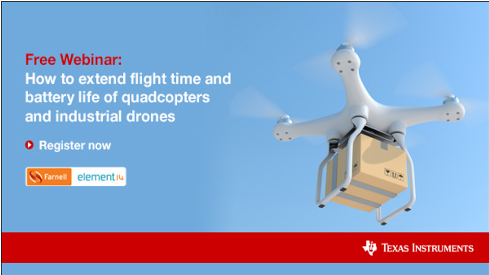 Webinar Extending Drone Flight Time