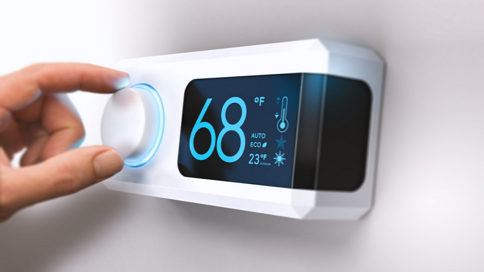 hvac thermostat smart iot