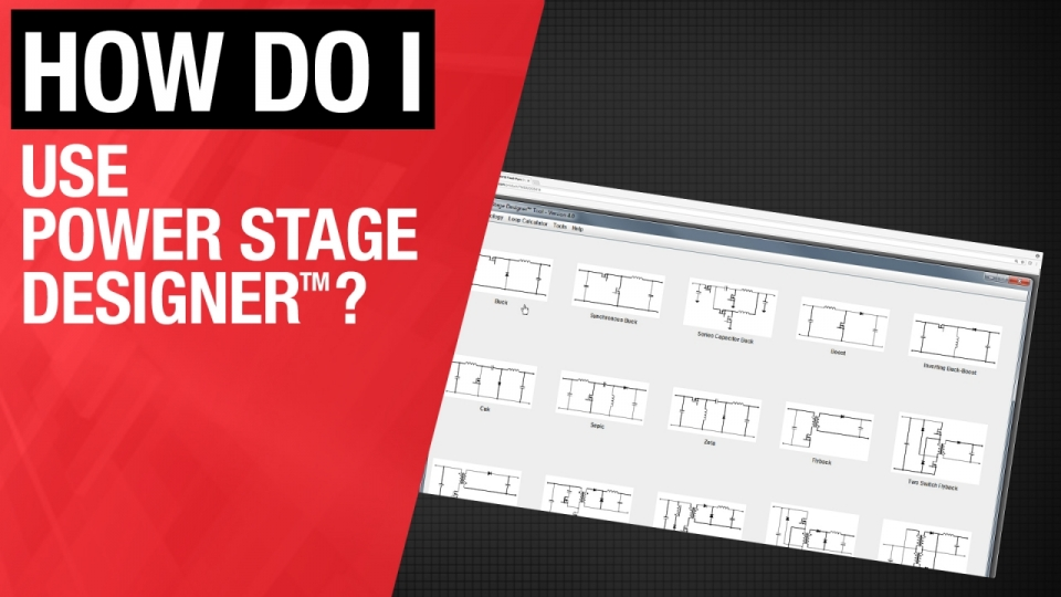 TI.com Power Stage Designer