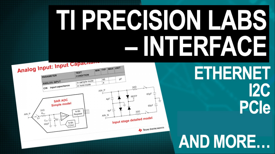 TI Precision Labs - Interface