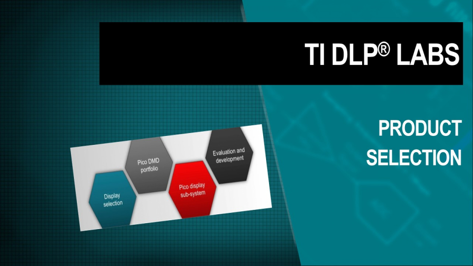 TI DLP Technology product selection