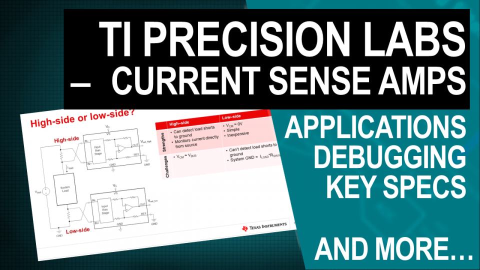 TI Precision Labs - Current Sense Amps