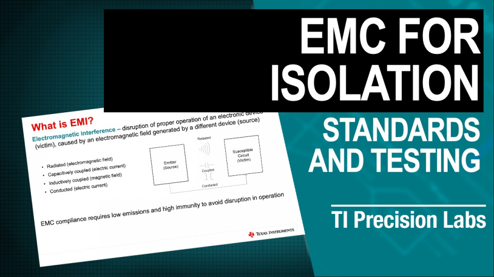 EMC for isolation