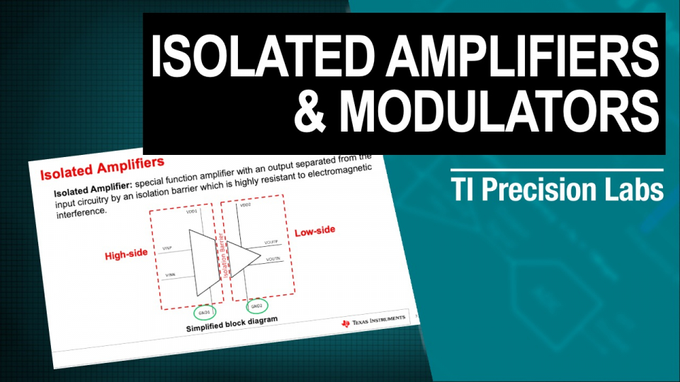 isolated amplifiers and modulators