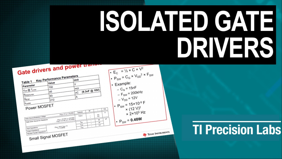 isolated gate drivers