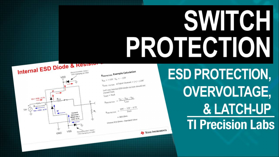 ESD protection, overvoltage and latchup - switches