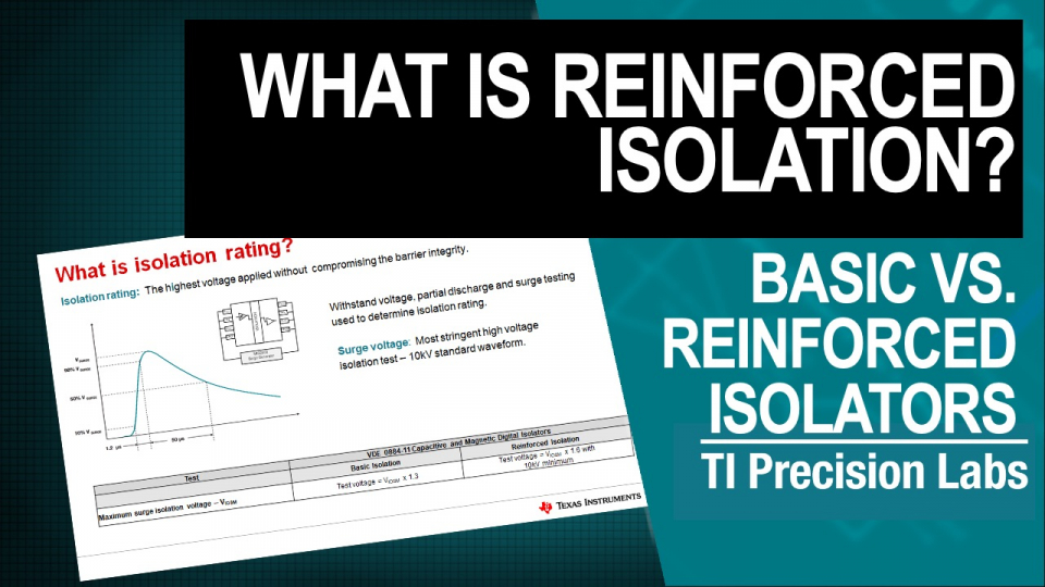 What is reinforced isolation