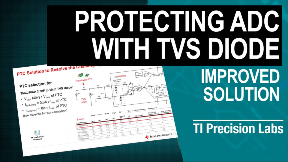 Protecting ADCS with TVS Diode, improved solution