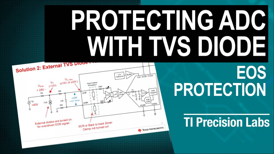 Protecting ADC with TVS Diode
