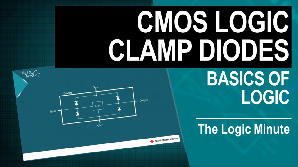 Clamp diodes for logic
