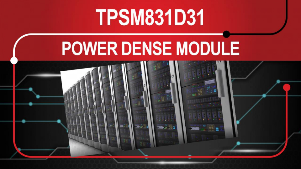 Power Dense Module for Datacenter Server and Switch