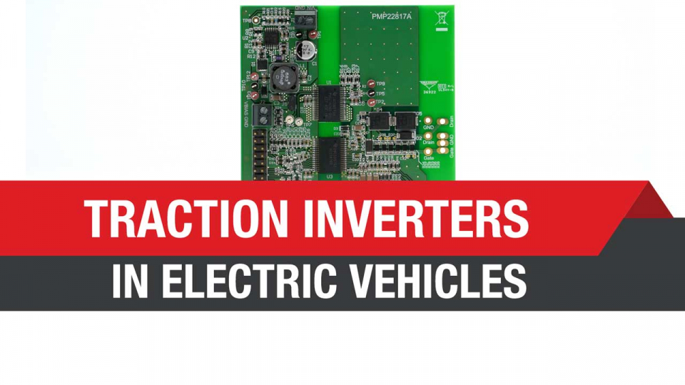 Traction inverters for EV