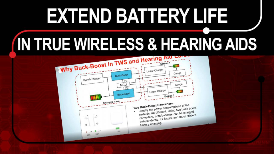 extend battery life in true stereo and hearing aids
