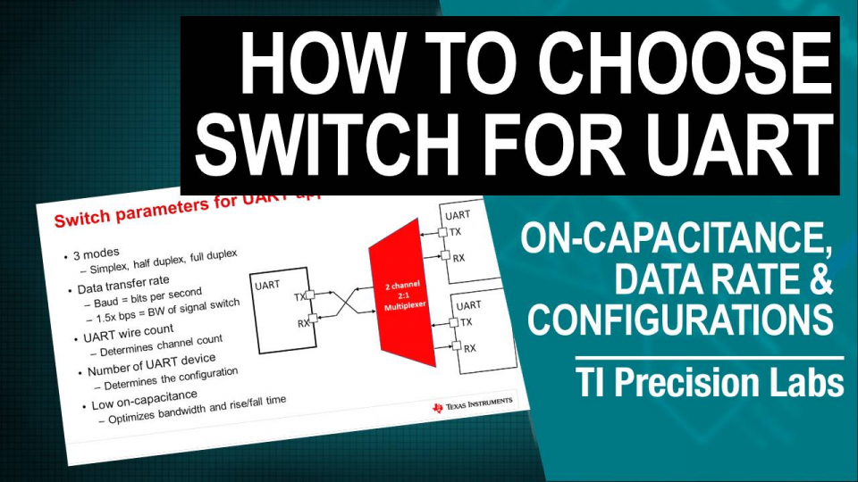 How to select the right switch for UART applications