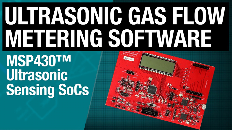 Ultrasonic gas flow metering software architecture