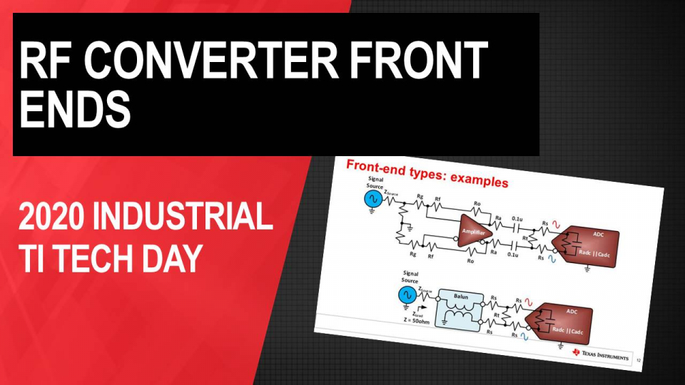 Unraveling the practical mysteries behind RF converter front-ends