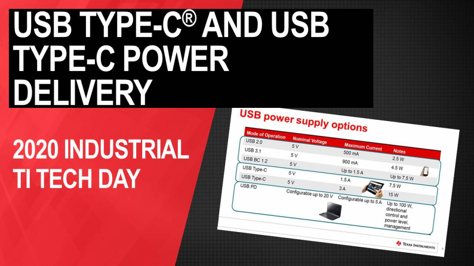 Understanding Type C connectors and USB power delivery