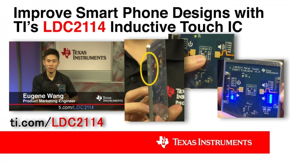 Improve smart phone designs with inductive touch