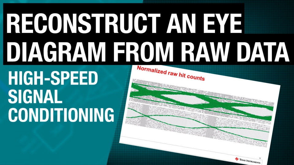 How to plot an eye diagram from raw data