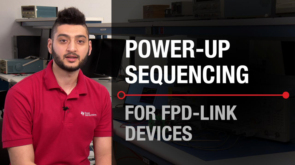 FPD-Link FPD Link interface Troubleshooting power up sequence sequencing start up integrated circuit PCB printed circuit board application linear High speed data clock HSDC I2C datasheet verification failure analysis debugging debug submission FA return