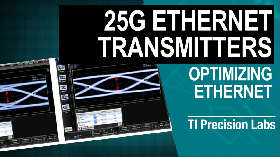Transmitter Optimization for 25 Gbps Ethernet Data Transmission Thumbnail