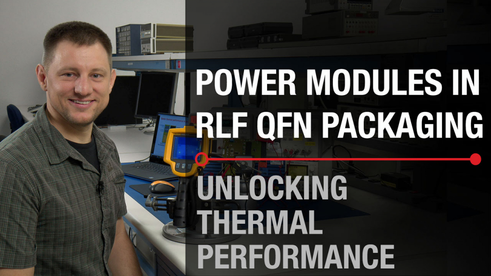 routable lead frame thermal performance