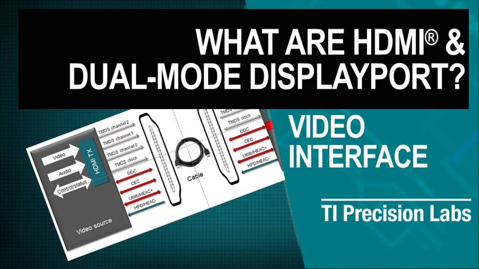 What are HDMI® & DisplayPort Video Thumbnail