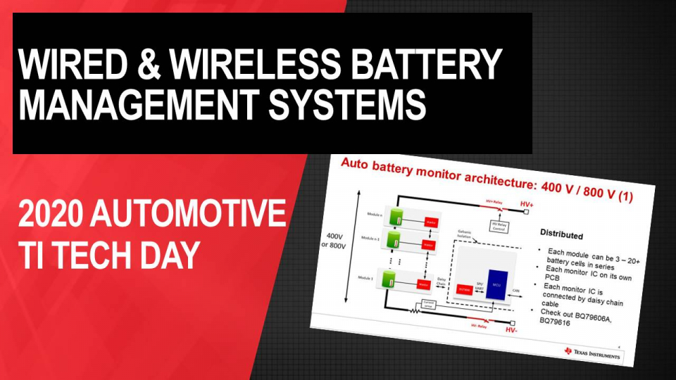 Comparing wired vs. wireless solutions in automotive battery management systems