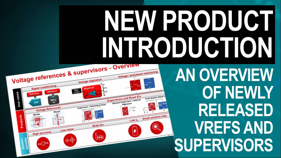 Introduction to new VRef and Supervisors